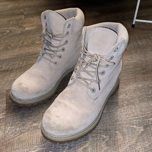 Taupe Timberland Boots Women's 9